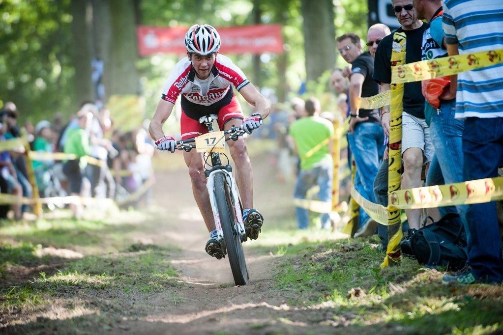 Heiko Gutmann downhill spectators by Maasewerd