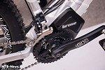 Am Hardtail ist der Brose-Motor sogar Umwerfer-Kompatibel