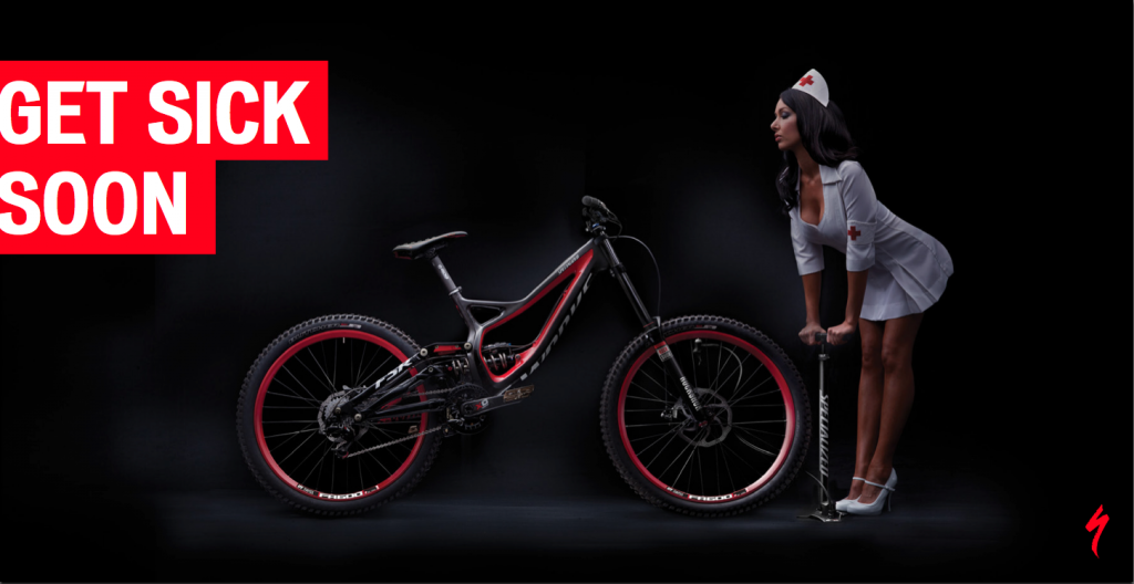 GET SICK SOON - Specialized Demo Carbon