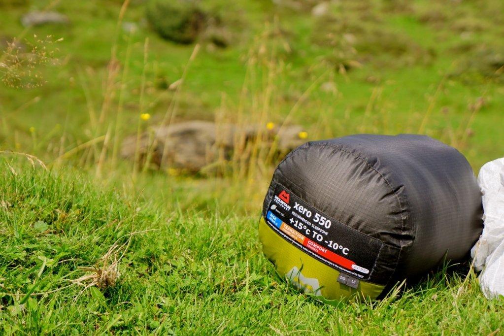 Mountain Equipment Schlafsack mit ordentlich Komfort