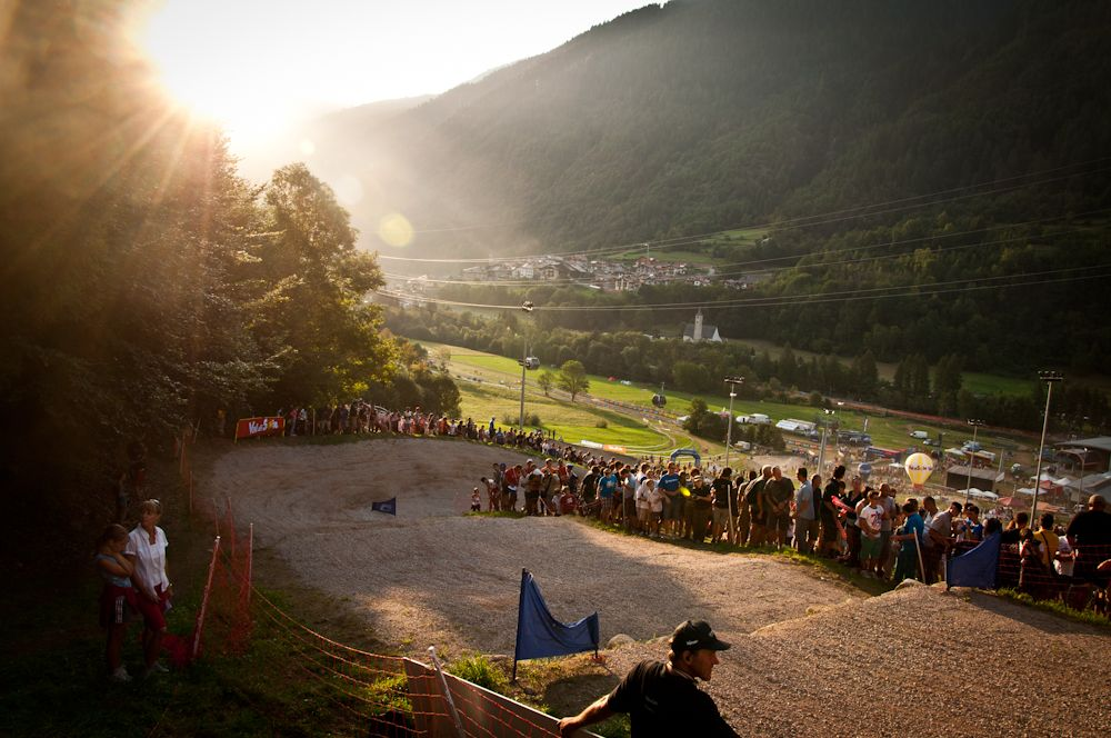 Val di Sole World Cup 4X Finale Kurve 1
