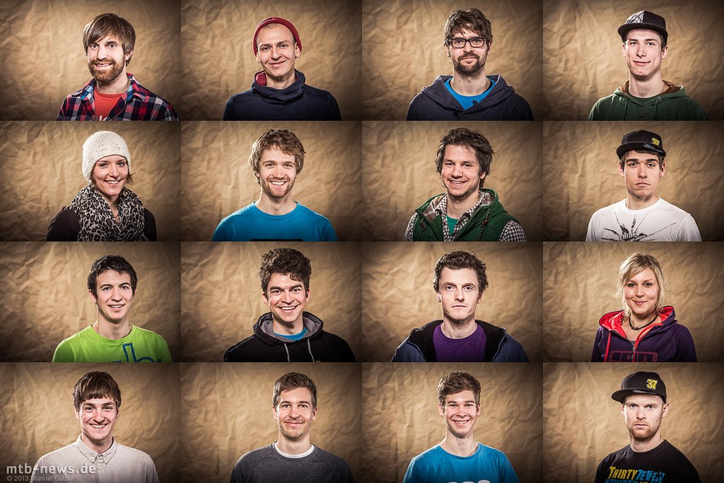 collage portraits