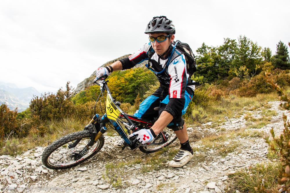 Nicolas Lau auf dem Weg zum zweiten Etappensieg