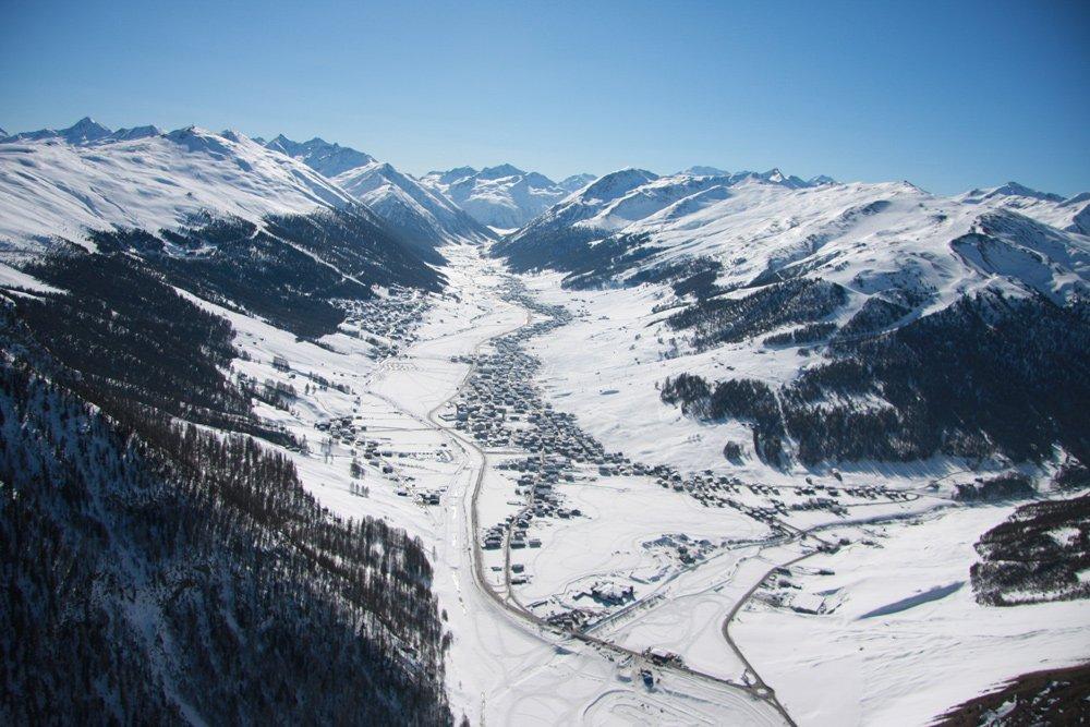 Livigno valley