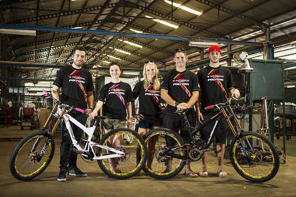 Hutchinson UR Team Gruppenfoto